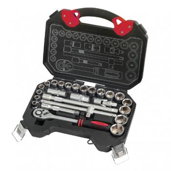 Jogo de Ferramentas JJ-B4025M, JJTools,caixa plástica 25 peças - uso profissional