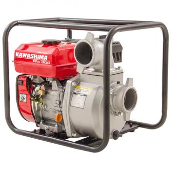 """Motobomba Kawashima GW300, 3"""", gasolina, 212cc, auto-escorvante"""
